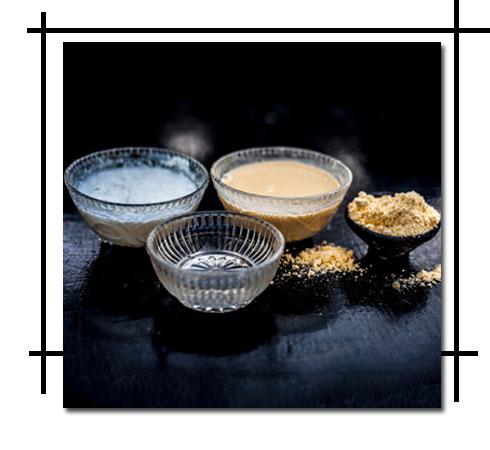 Sun tan removal – Yoghurt & Gram Flour