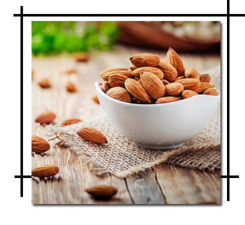 Sun tan removal - Almonds