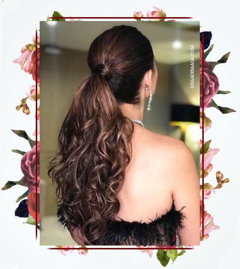 Bridesmaid Hairstyles- Sangeet