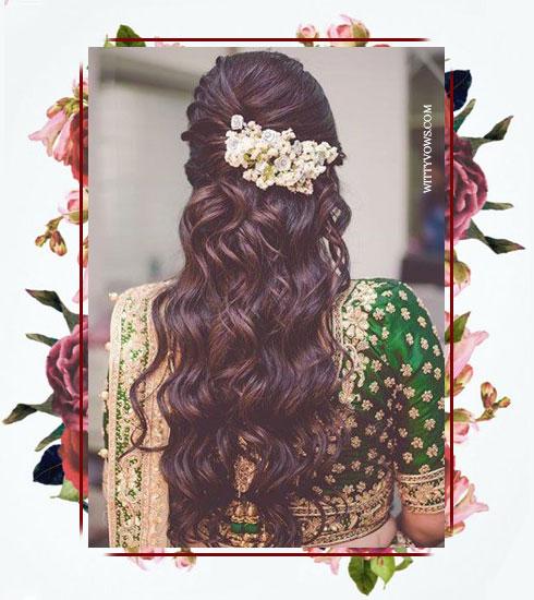 Bridesmaid Hairstyles- Reception