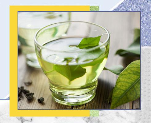 how to cure sunburn using green tea