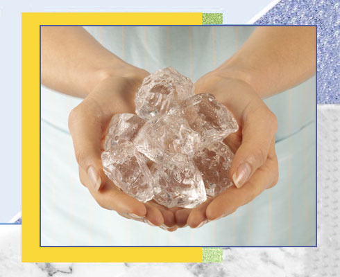sunburn remedies - Ice