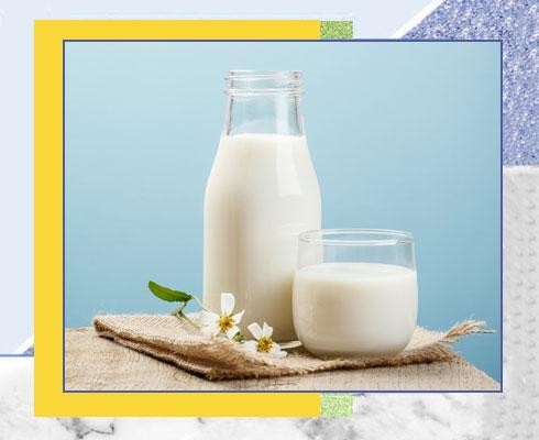 home remedies for sunburn - Milk