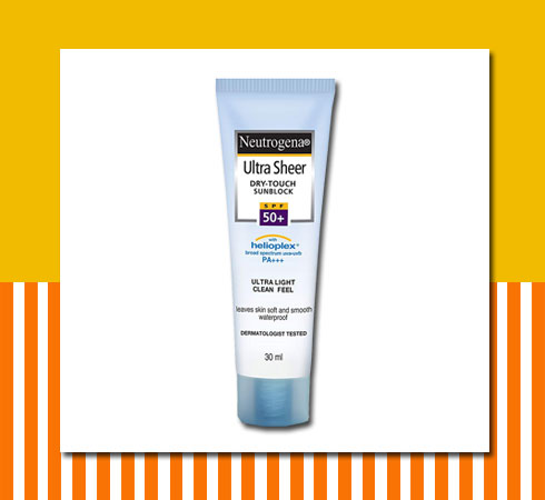 Sunscreen SPF 50 - Neutrogena