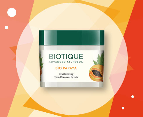 Tan Removal Scrub - Biotique