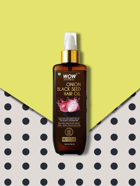 best hair care products- oil