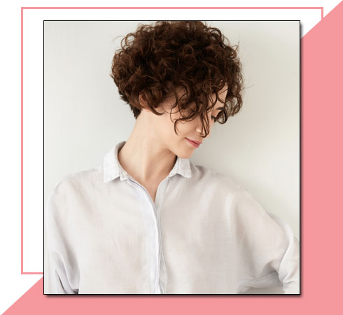 Easy Hairstyles for Short hair – Messy Curls