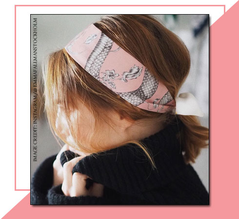 Hairstyles for Short Hair – Scarf Band