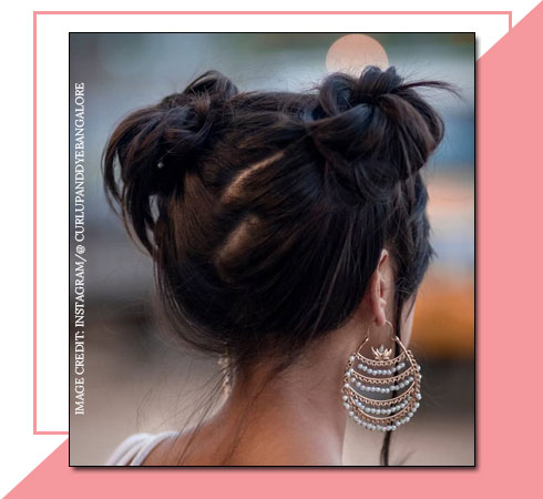 Easy Hairstyles for Short Hair – Space Buns