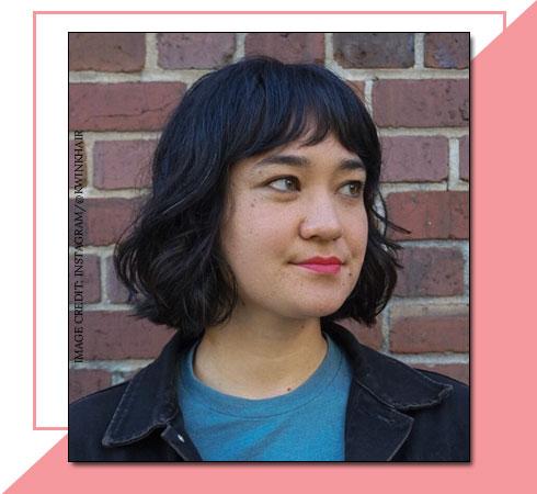 Short Haircuts for Girls – Dramatic Bangs