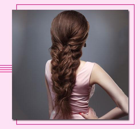mermaid braid hairstyle