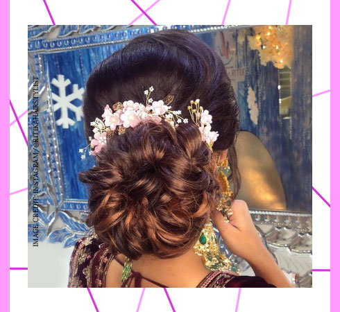 Bridal Hairstyles Easy Wedding Hairstyles For Wedding Party Nykaa S Beauty Book