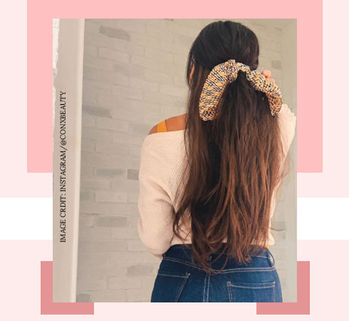 Hairstyle with Clip In Hair Extension