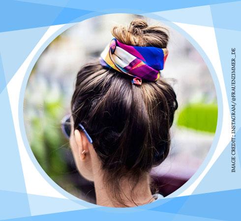 Simple Hairstyles for Long Hair – Ballerina Bun