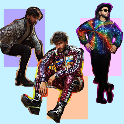 Androgynous Fashion Statement by Ranveer Singh