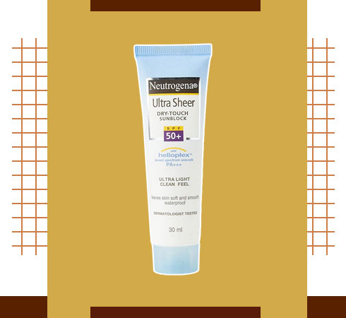 Skin Care Routine Products – Sunscreen