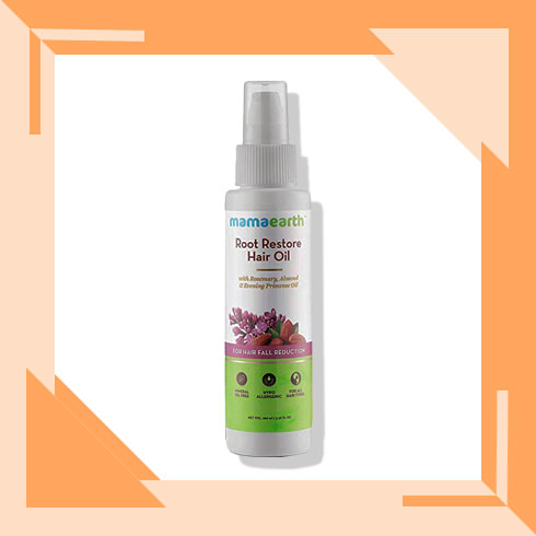 Dry Hair Solution – Mamaearth Hair Oil