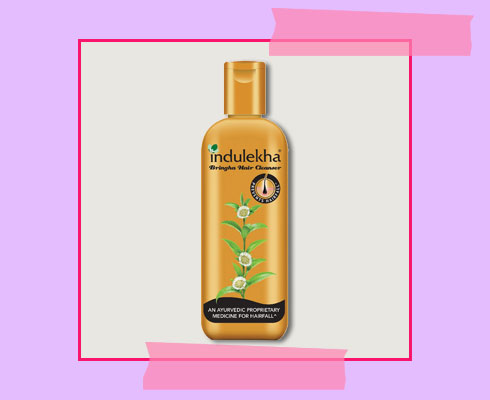 best shampoo to prevent hair fall - Indulekha Bringha Hair Anti-Hairfall Shampoo