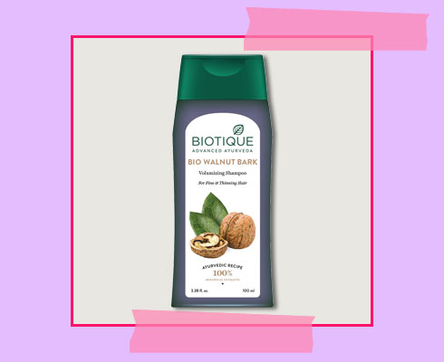 best organic shampoo for hair fall - Biotique Shampoo