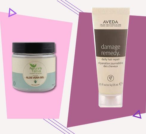 Hair Mask For Damaged Hair- Aloe Vera Hair Mask
