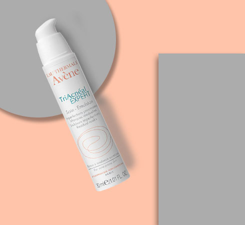 moisturizer for acne prone skin- Avene TriAcneal Expert
