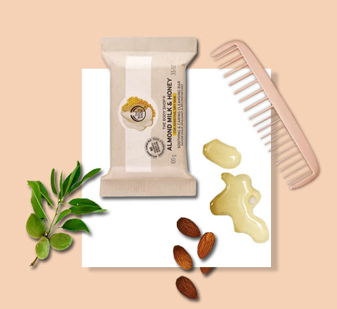 almond oil benefits for skin & hair – Body Shop