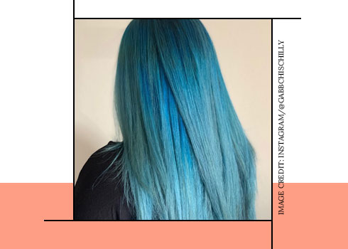 Sky Blue Hair Color