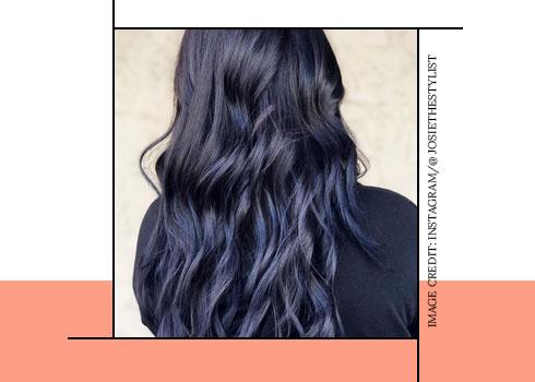 moonlight blue hair color