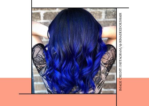royal blue hair color