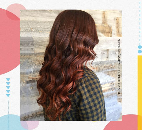 Hair Color Ideas - Auburn