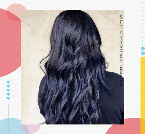 Hair Color for Women – Midnight Blue