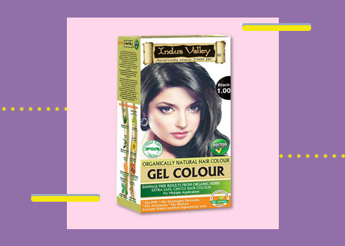 Natural Hair Dye- Indus Valley Organically Natural Hair Color