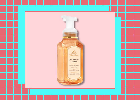 Best Hand Washes- Mirah Belle Organic & Bath & Body Works Champagne Toast Gentle Foaming Hand Soap
