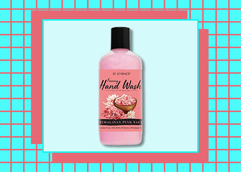 Best Hand Washes- St. D'vencé Himalayan Pink Salt With Water Lily Hand Wash