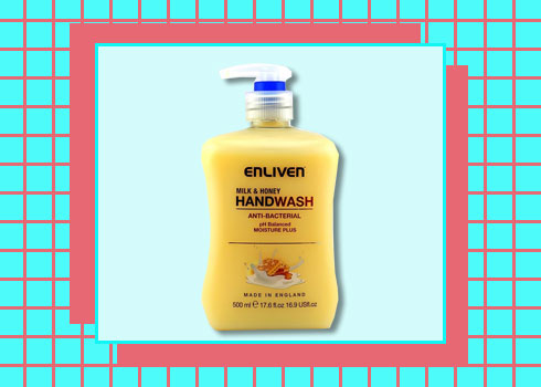 Best Hand Washes – Enliven Anti Bacterial Hand Wash Milk and Honey