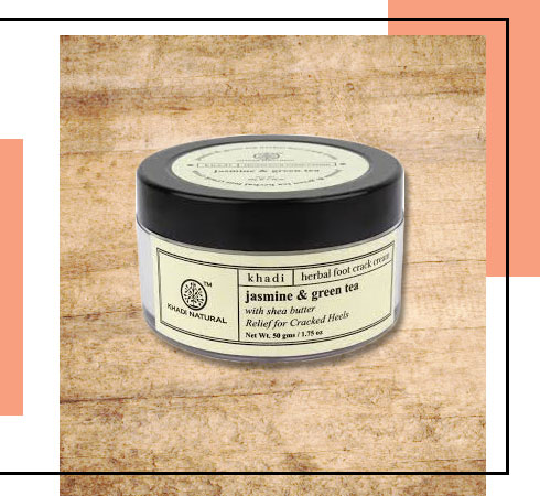Foot Care Cream – Khadi Natural Jasmine Green Tea Foot Crack Cream