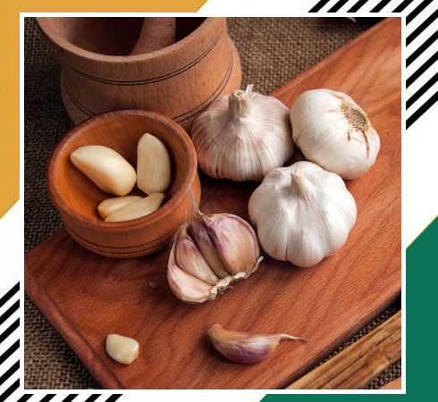 home remedies for facial hair - garlic