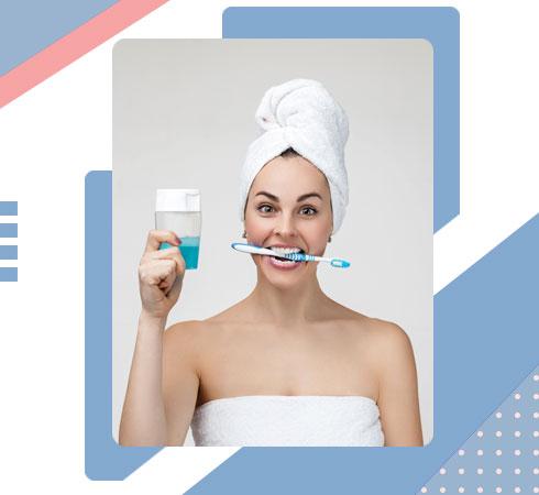 Mouthwash advantages