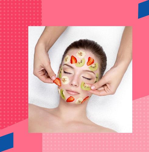 Face Glow Tips - Use Fruit Masks