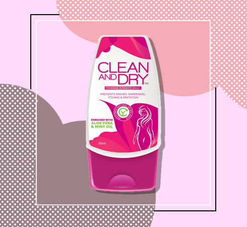 Clean and Dry Intimate Wash – Clean & Dry Feminine Intimate Wash