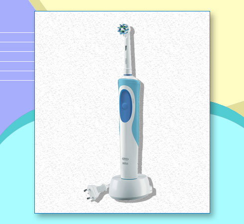 Oral-B Vitality Electric Toothbrush – Oral-B Vitality Cross Action Electric Rechargeable Toothbrush