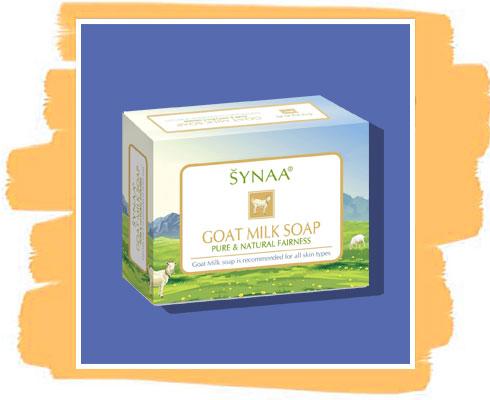 Goat Milk soap: Synaa Goat Milk Soap