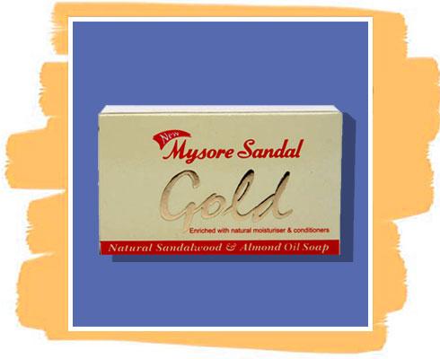 Sandalwood soap: Mysore Sandal Gold Soap