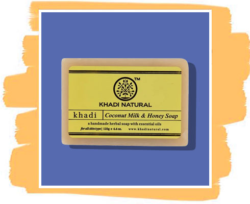 Milk and Honey soap: Khadi Natural Ayurvedic Coconut Milk & Honey Soap