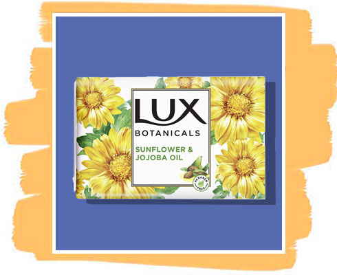 Sunflower soap: Lux Botanicals Sunflower & Jojoba Oil Soap Bar