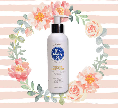 Paraben Free Body Wash– The Moms Co. Natural Body Wash
