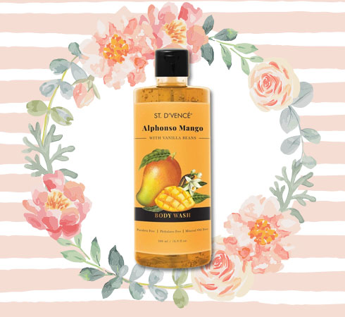 Body Wash that Smells Good All Day– St. D'vencé Alphonso Mango Body Wash With Vanilla Beans
