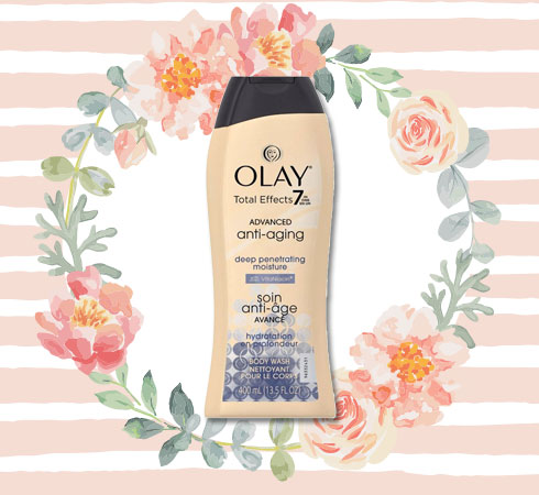 Best Body Wash for Women– Olay Total Effects Anti-Aging Deep Penetrating Moisture Body Wash