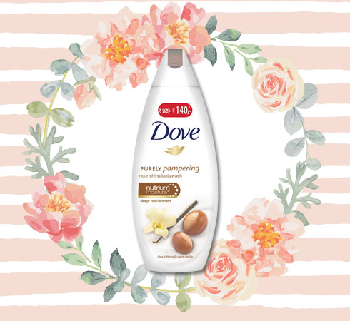Best Body Wash for Dry Skin– Dove Shea Butter and Warm Vanilla Body Wash