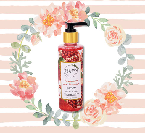 Paraben Free Body Wash– Fizzy Fern Pomegranate & Tamarind Body Wash